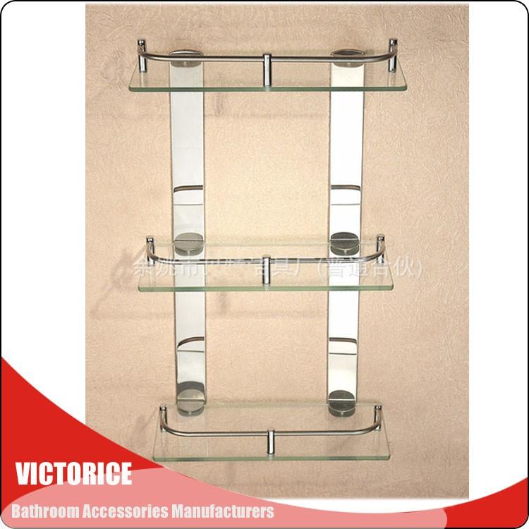 g estante de vidrio bao niveles bao estante