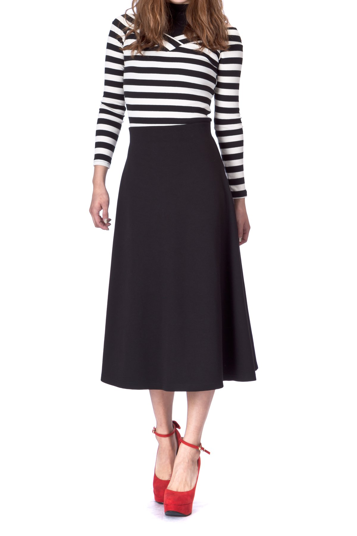 a2ccc62632 Cheap High Waist Flared Skirt, find High Waist Flared Skirt deals on ...