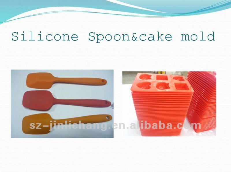 Supplier offer custom silicon divided cake pan