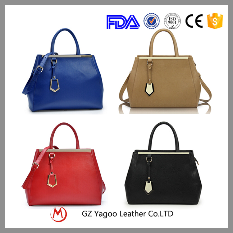 Wholesale designer ladies' fashion 2017 China PU lady hand bag
