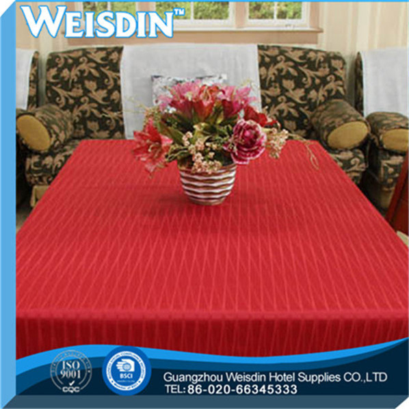 100% Bamboo Fiber high quality Crocheted adhesive recycle table cloth