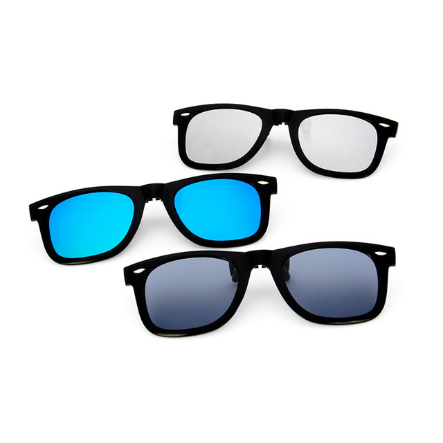 high quality newest polarized lens sunglasses men clip 2017 fashion eyewear DLL2140P