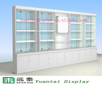 Modern Factory Direct Wall Free Standing Gl Display Cabinet Showcase