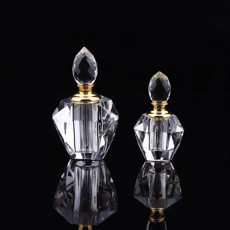 DL-XSP03 Personalized customization 5ml 10ml 15ml 20ml 30ml 50ml 60ml 100ml 120ml clear crystal glass perfume bottles 50ml glass