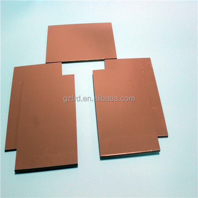 Fire-rated mineral core Aluminium composite panel