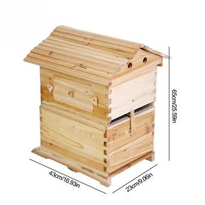Automatic Wooden Beehive House For beekeeper beekeeping equipment honey self flowing bee hive tool apiculture equipment