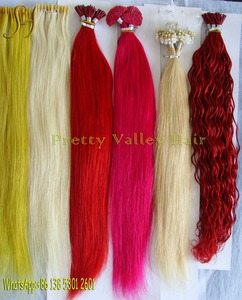 factory price 100% Natural Remy european hair extension