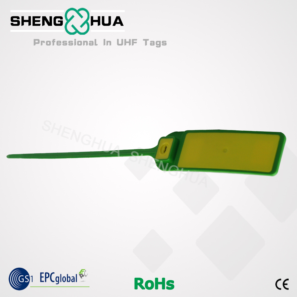 printable Uhf rfid seal for logistic management Best sell uhf rfid Plastic seal tag