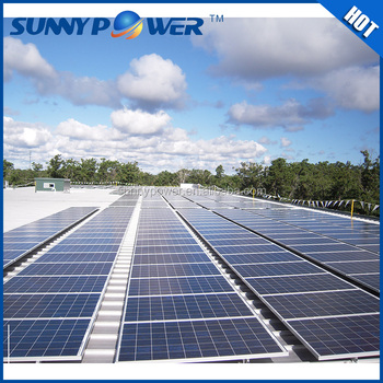 3kw Sunnypower Blue Top Quality High Efficiency Off Grid