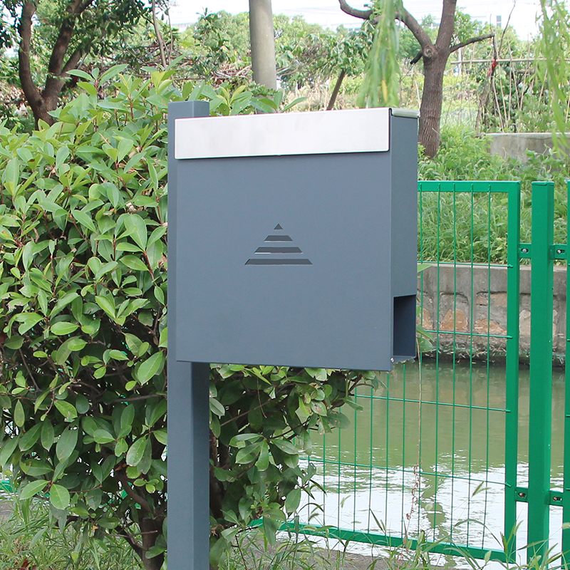 New Design Wall Mount Stainless Steel Post Newspaper Letterbox