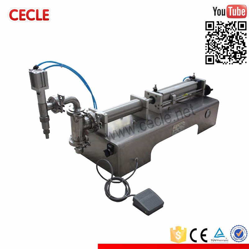 High speed small-scale liquid filling machine price