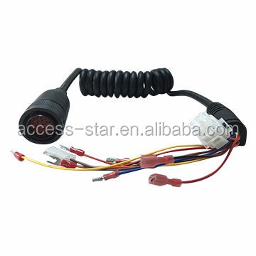 Coiled Cable Assembly-10 From Customized Wire Harness Manufacturer