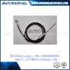 JUNXIANG Bajaj 3 wheelers speedometer cable motorcycle control cables india market OEM:AA191071