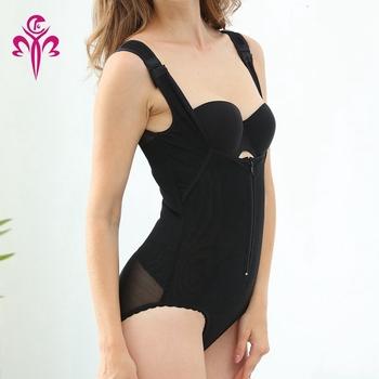 fec1a8a22e9 Seamless Firming Control Colombian Shapewear with Zipper Waist Trainer Slimming  Shaper Full Bodysuit