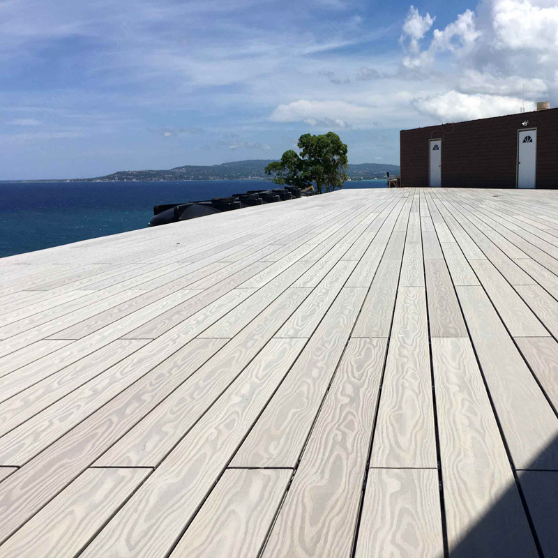 Anti-Slip Barfuß Outdoor Holz Kunststoff Composite WPC Decking