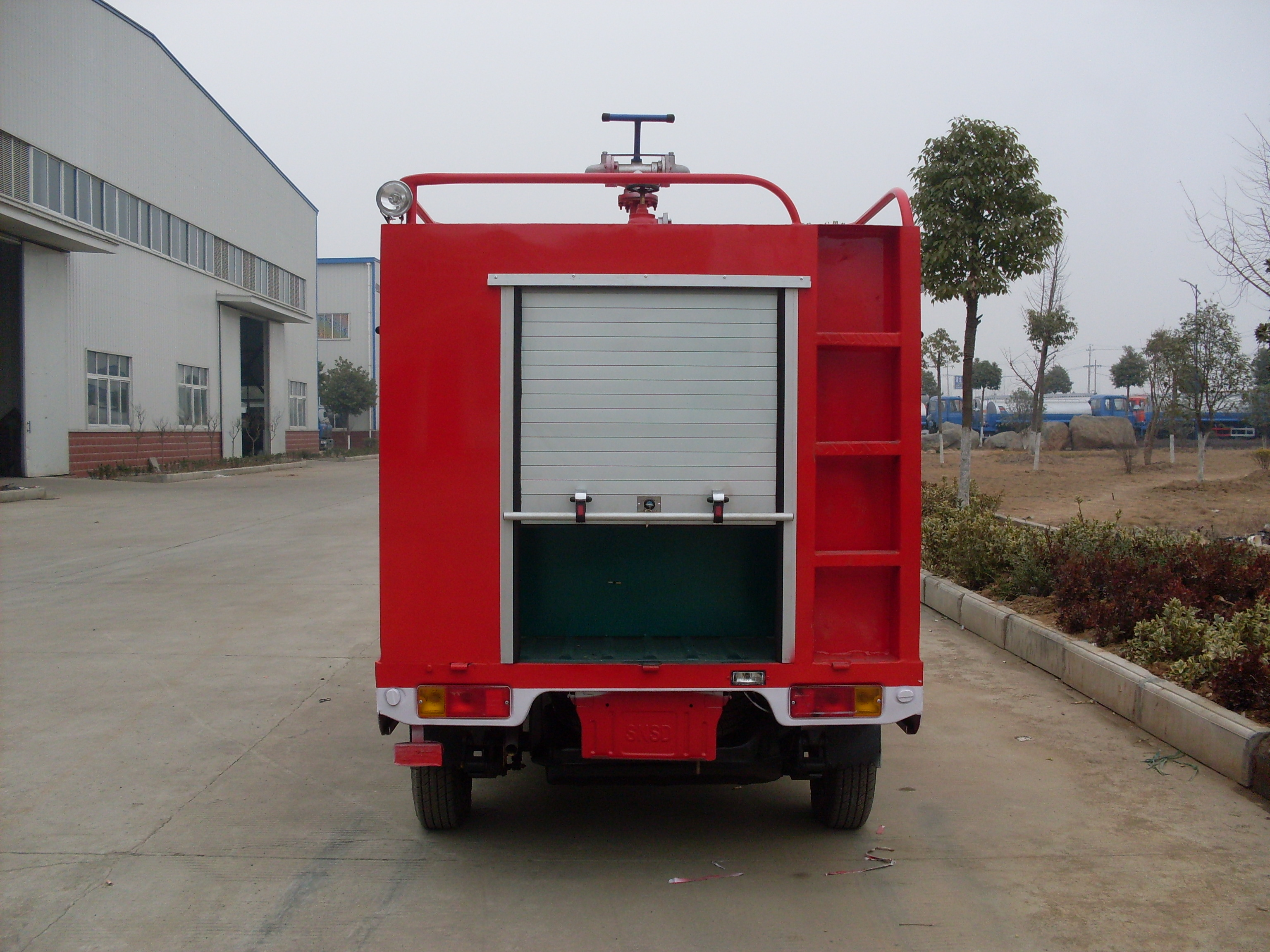 Changan Mini Model Water Fire Truck Off Road Fire Truck