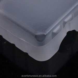 Competitive Price ECO Friendly Soft Recycled Supermarket Matt Plastic PP Tray For Cake Bread