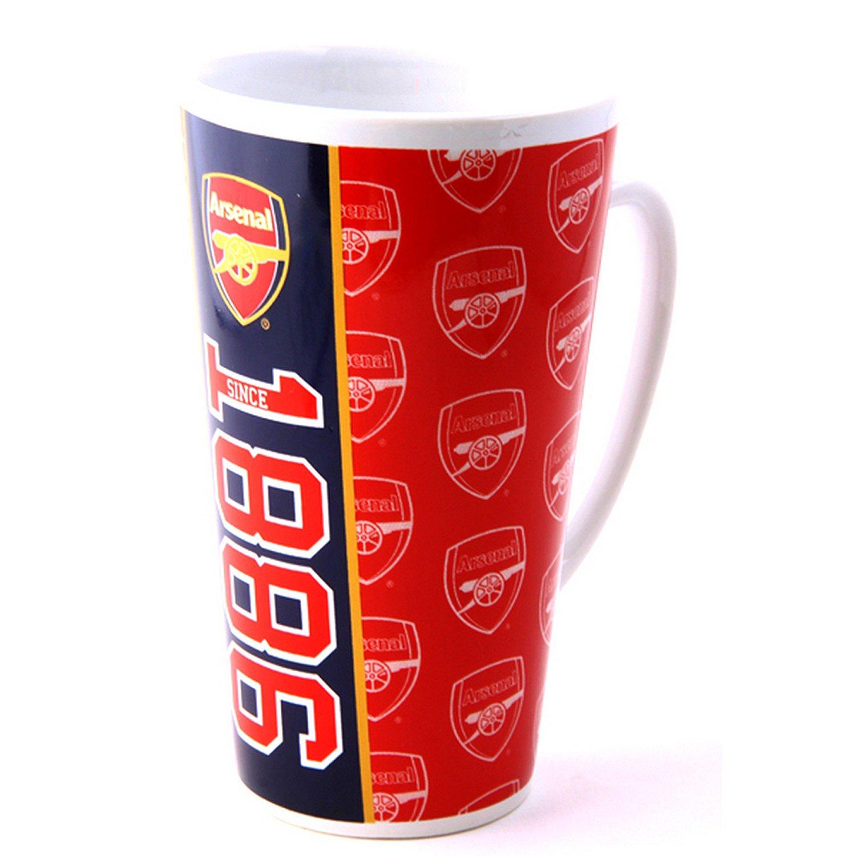 Arsenal FC Official Established Football/Soccer Crest Latte Mug