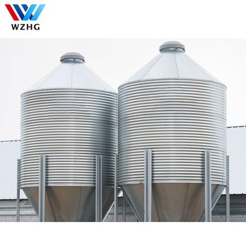 Customized Grain Storage Steel Silo Used For Farm