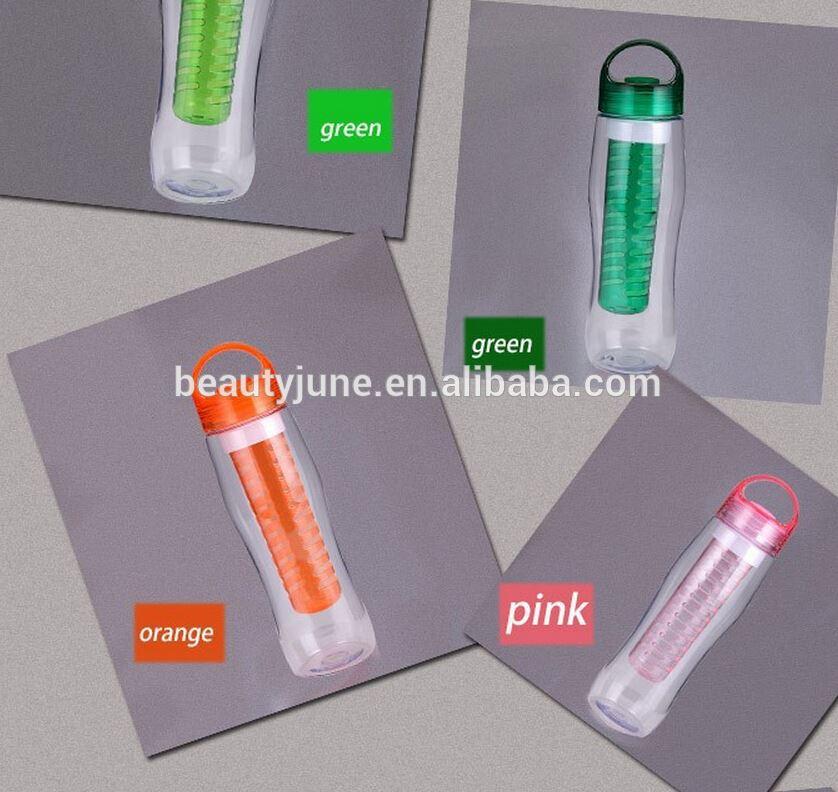 Hot Sale 700ml 27oz Tritan Bpa Free Water Bottle Fruit Infuser Oem ...