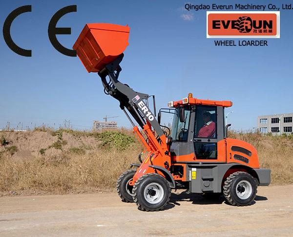EVERUN ER10 Brand CE lonking wheel loader