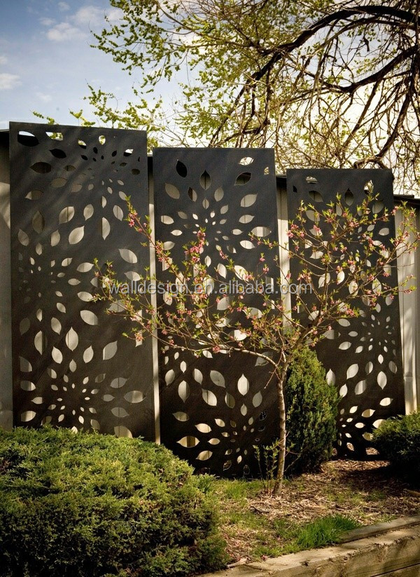 Outdoor Screen Panel Used For Park Garden Wall Decoration