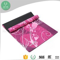 Popular Personalised branding of the mats nature rubber yoga mats wholesale china