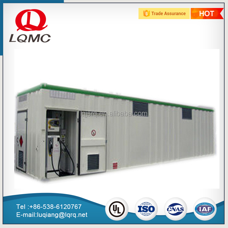 Africa popular 20ft containerized portable petrol mobile fuel station