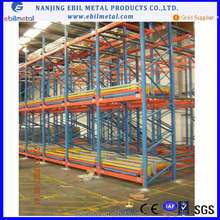 Push Back Steel pallet rack With CE Certificate and High Quality Racking