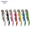 Wholesale multifunctional seahorse shape corkscrew wine bottle opener with knife