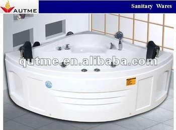 Most Popular Double Sided Comfortable Concrete Massage Bathtub With Two  Pillows