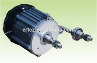 dc motor differential rear axle