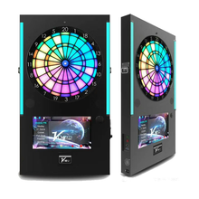 LED Licht Dartbord Coin/Card Systeem Dart Game Machine Elektrische Met Darten Arcade Games voor Verkoop