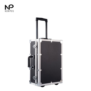 heavy duty trolley aluminum carrying case