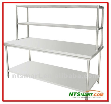 Stainless Steel Work Table With Top Shelf Buy Stainless Steel Kitchen Tables Stainless Steel Work Table With Top Shelf Stainless Steel Work Table Product On Alibaba Com