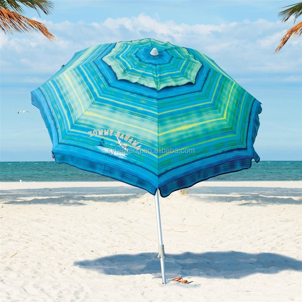 new design with high quality solar panel beach umbrella made in china