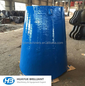 stone breaking crusher machine spare bowl liner