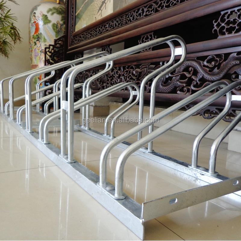 Wholesale School Floor Steady Vertical Freestanding Multiple Bike Rack