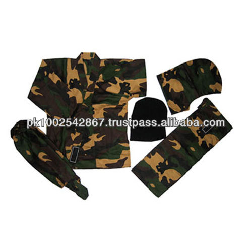 Traditional Camouflage Ninja Uniforms Martial Arts wear