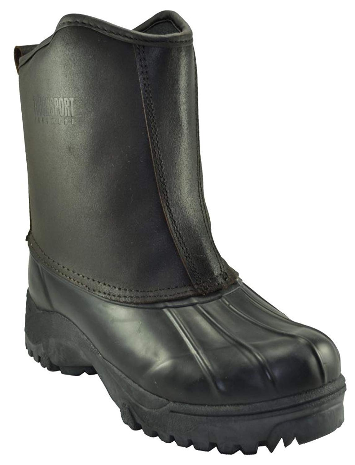 "Men's 10"" High Pull On Genuine Leather Upper Dupont Thermolite Insulated Winter Boot"