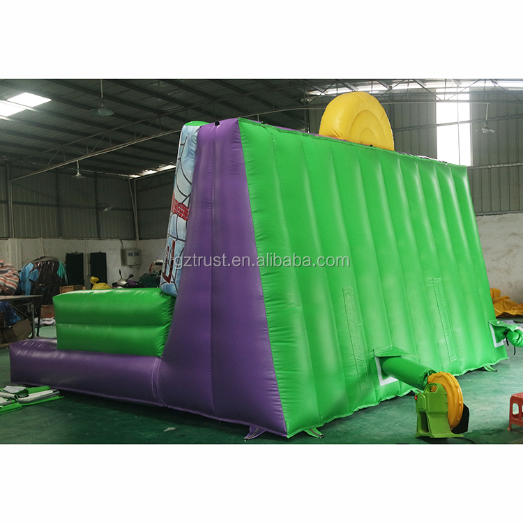 2019 New arrival outdoor inflatable games inflatable rock climbing sticky wall