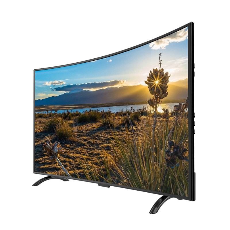 50 inch smart TV LED android large screen curved tv television set фото