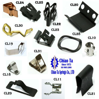OEM / ODM all kinds of springs, clip spring and metal products