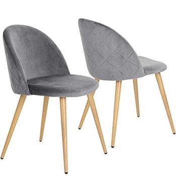 Coavas Dining Chairs Soft Velvet