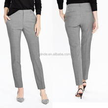 Laatste Formele <span class=keywords><strong>Broek</strong></span> Werkkleding Fashion Womens Stretch Ryan Fit Slim Been Lichtgewicht Wol <span class=keywords><strong>Broek</strong></span> Voor Office Lady