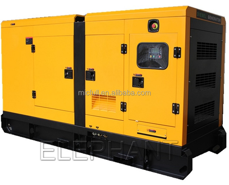 Heavy Duty Global Warranty 40kW 50kVA Canopy Soundproof Diesel Generator