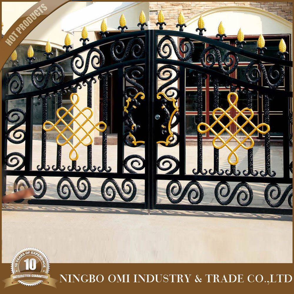 Reliable cast aluminum gate grill designsteel construction building material iron house main gate designs
