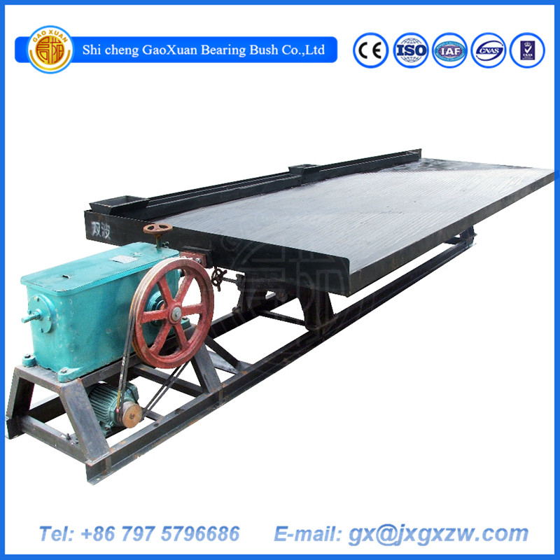 Mineral Processing copper ore concentrate table / Gold Shaking table price
