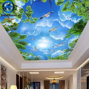 Ceiling Wallpaper Sky Supplieranufacturers At Alibaba