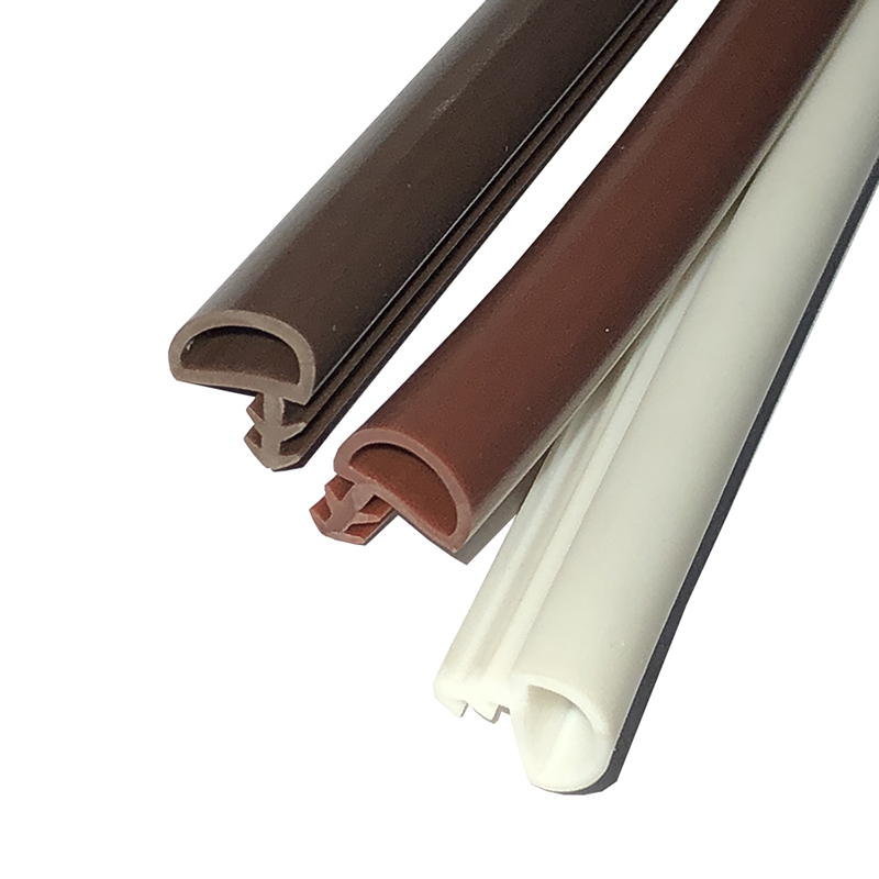 Extruded PVC Rubber Sealing Strips Wooden Door Window Frame Gasket Seals Soundproof Anti-Collision Weatherstrips Y 9x5x3.8mm